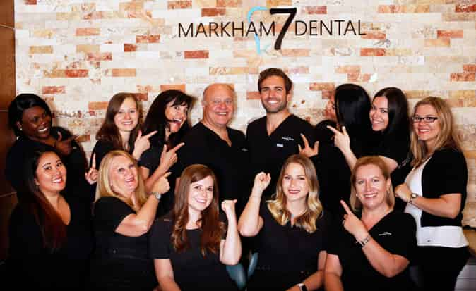 Markham 7 Dental Office Team