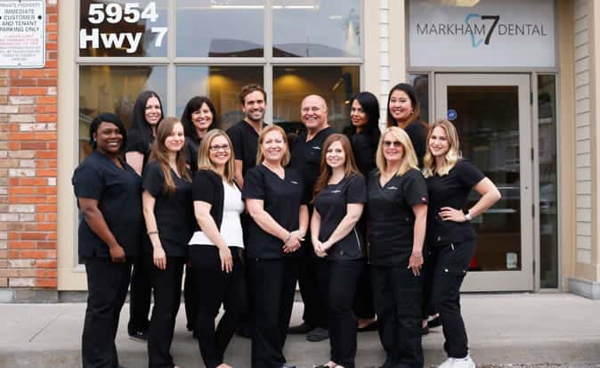 Markham 7 Dental Team Members
