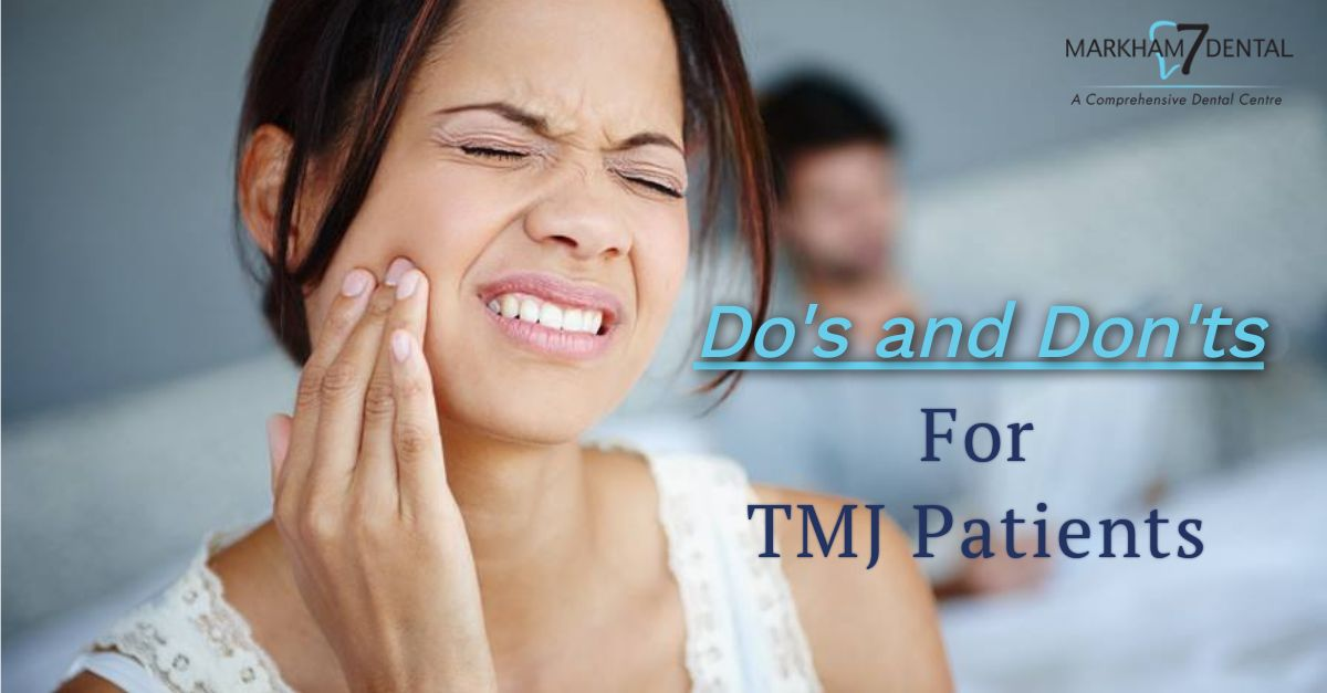 Do's and Don'ts for TMJ Patients